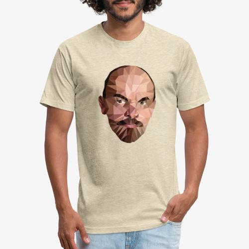 Vladimir Ulyanov - Fitted Cotton/Poly T-Shirt by Next Level