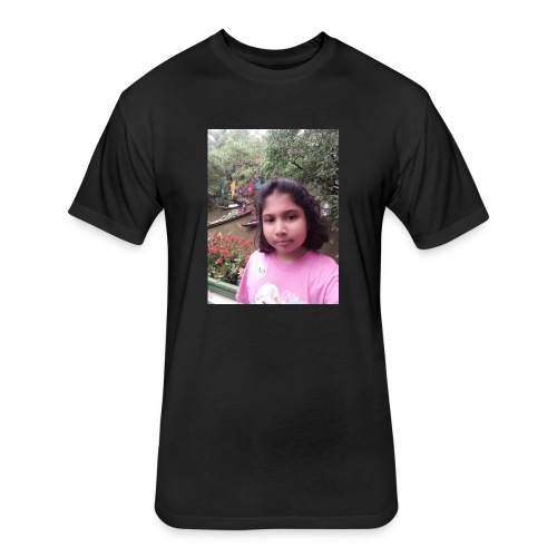 Tanisha - Fitted Cotton/Poly T-Shirt by Next Level