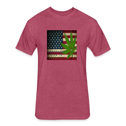 Political humor - Fitted Cotton/Poly T-Shirt by Next Level