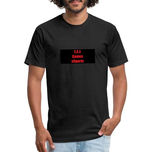 E.X.E Games eSports - Fitted Cotton/Poly T-Shirt by Next Level