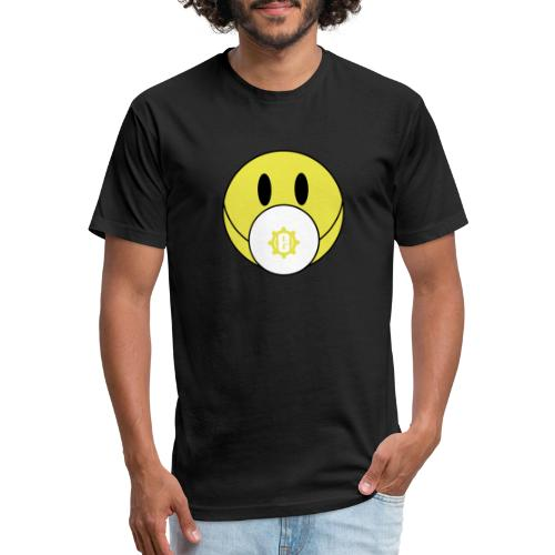 Engineeer Mask - Fitted Cotton/Poly T-Shirt by Next Level