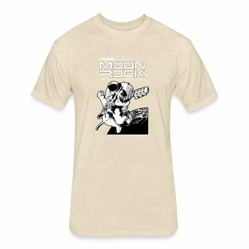 Classic Moon Rock - Fitted Cotton/Poly T-Shirt by Next Level