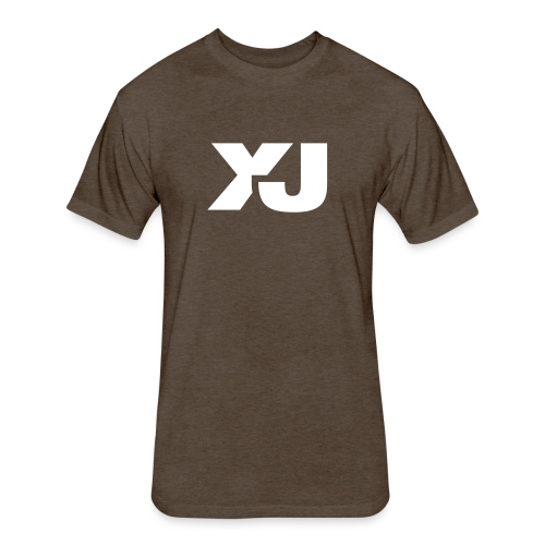 Jeep Cherokee XJ - Fitted Cotton/Poly T-Shirt by Next Level