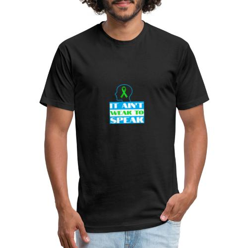 head space - Fitted Cotton/Poly T-Shirt by Next Level