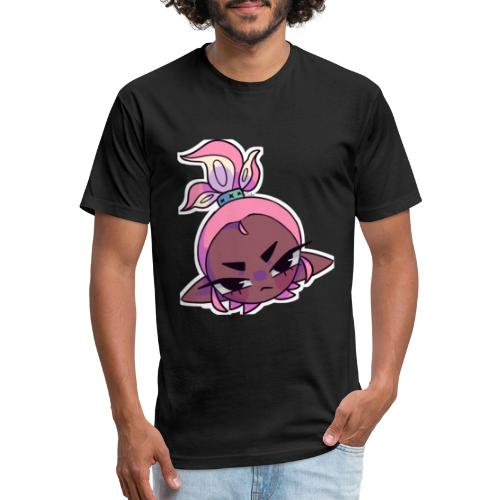 Jon Gamez Mad - Fitted Cotton/Poly T-Shirt by Next Level
