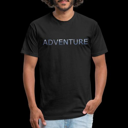 adventure banff mountain - Fitted Cotton/Poly T-Shirt by Next Level