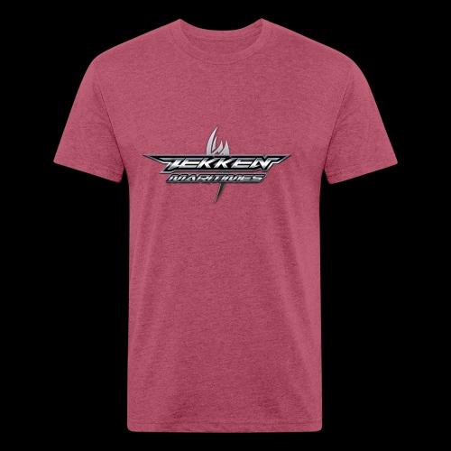 Tekken Maritimes Logo transparent - Fitted Cotton/Poly T-Shirt by Next Level