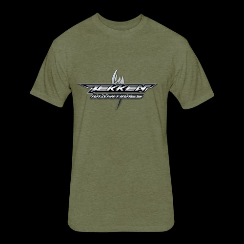 Tekken Maritimes Logo transparent - Fitted Cotton/Poly T-Shirt by Next Level