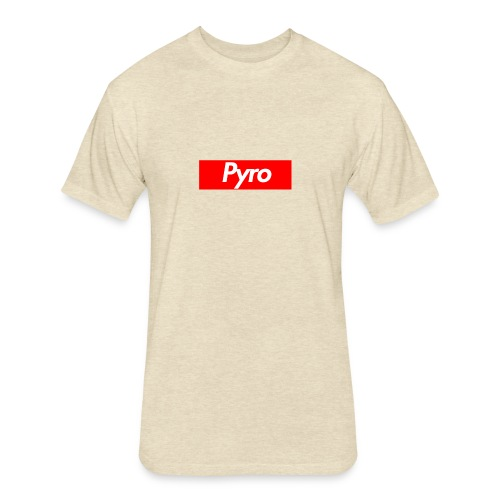 pyrologoformerch - Fitted Cotton/Poly T-Shirt by Next Level