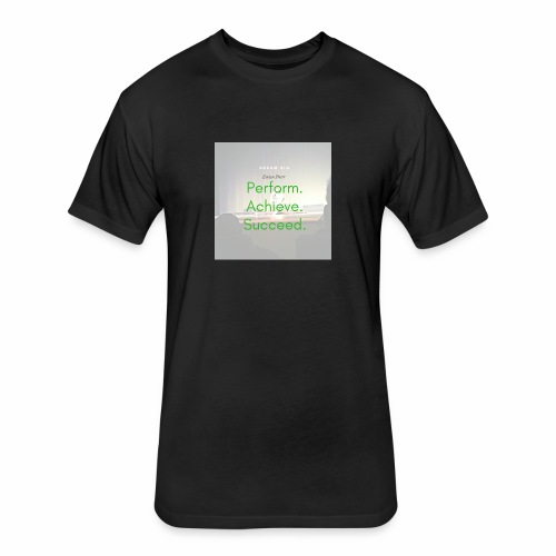Dream Big - Fitted Cotton/Poly T-Shirt by Next Level
