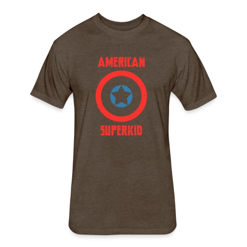 American Superkid - Fitted Cotton/Poly T-Shirt by Next Level