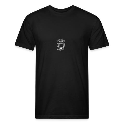 Stay Lavish - Lavish WorldWide - Fitted Cotton/Poly T-Shirt by Next Level