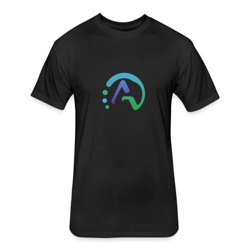 Aqua Gaming Merch - Fitted Cotton/Poly T-Shirt by Next Level