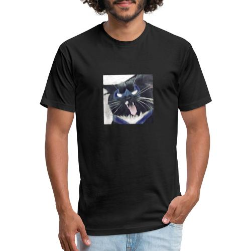 8266EB6B 1610 4025 9907 323F3C7F17FE - Fitted Cotton/Poly T-Shirt by Next Level