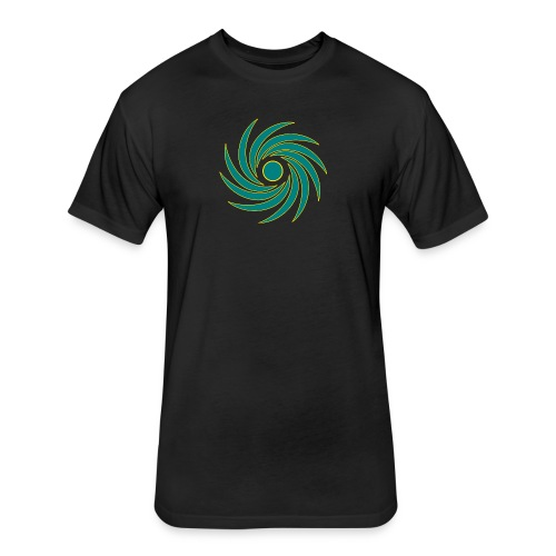 Whirl - Fitted Cotton/Poly T-Shirt by Next Level