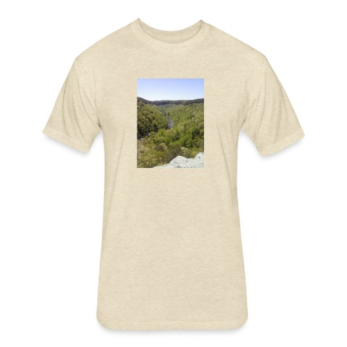 LRC - Fitted Cotton/Poly T-Shirt by Next Level