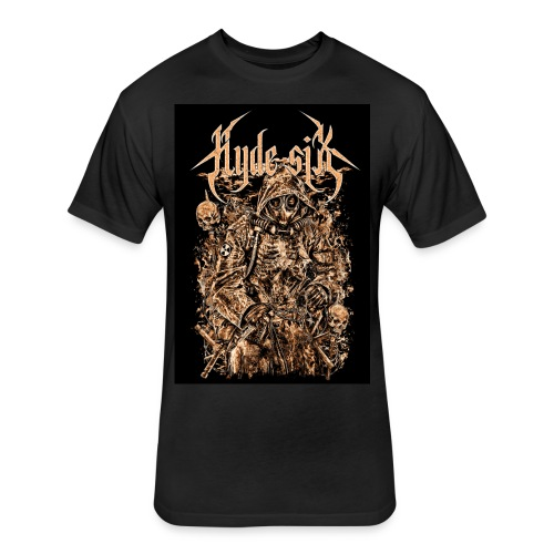 Hyde six - Fitted Cotton/Poly T-Shirt by Next Level