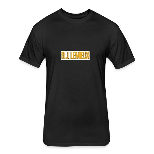 dilemieux - Fitted Cotton/Poly T-Shirt by Next Level