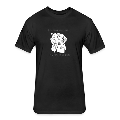 Design 6.5 - Fitted Cotton/Poly T-Shirt by Next Level