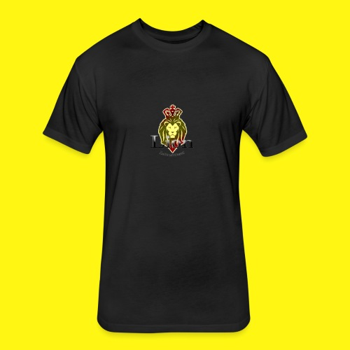 Lion Entertainment - Fitted Cotton/Poly T-Shirt by Next Level