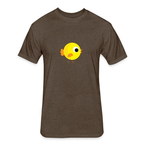 HENNYTHEPENNY1 01 - Fitted Cotton/Poly T-Shirt by Next Level
