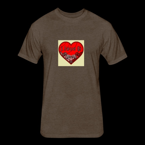 DE1E64A8 C967 4E5E 8036 9769DB23ADDC - Fitted Cotton/Poly T-Shirt by Next Level