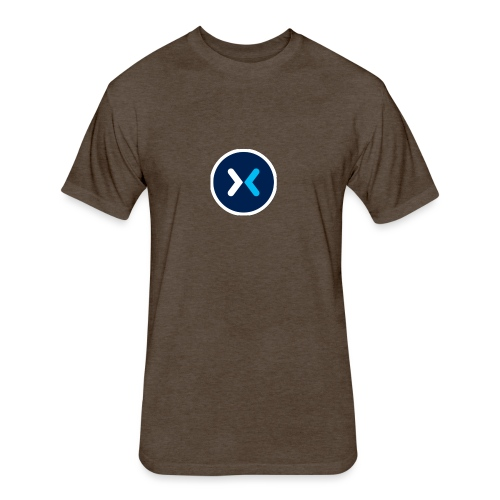 mixer symbol - Fitted Cotton/Poly T-Shirt by Next Level