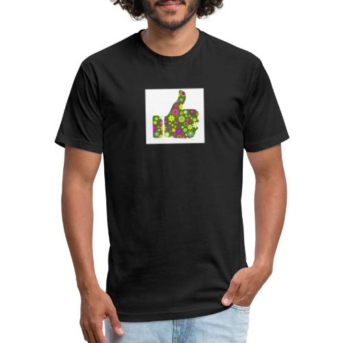 Greenflowerthumb - Fitted Cotton/Poly T-Shirt by Next Level