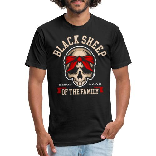 black sheep of the family - Fitted Cotton/Poly T-Shirt by Next Level