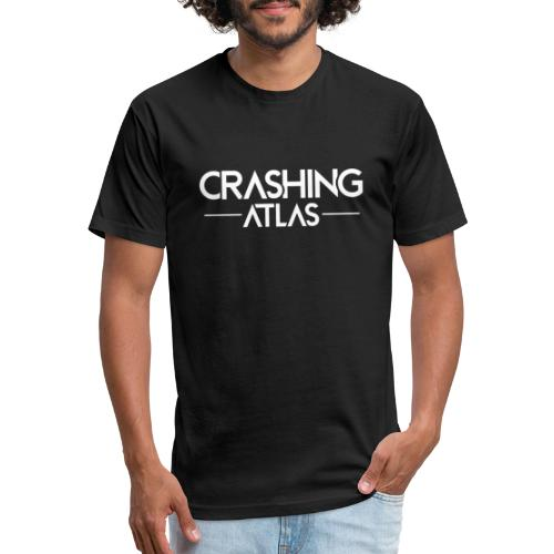 Crashing Atlas - Fitted Cotton/Poly T-Shirt by Next Level