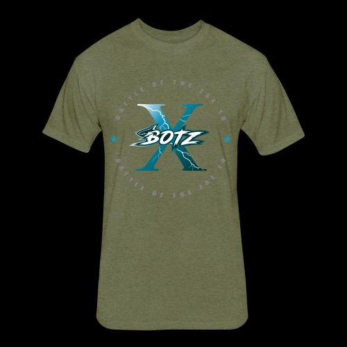BOTZ X Circle Logo - Fitted Cotton/Poly T-Shirt by Next Level