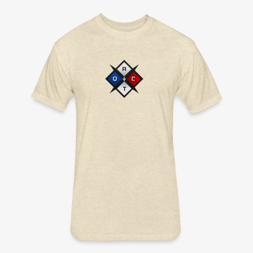RTQC Logo - Fitted Cotton/Poly T-Shirt by Next Level