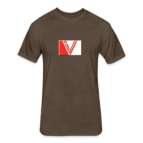 LBV red drop - Fitted Cotton/Poly T-Shirt by Next Level