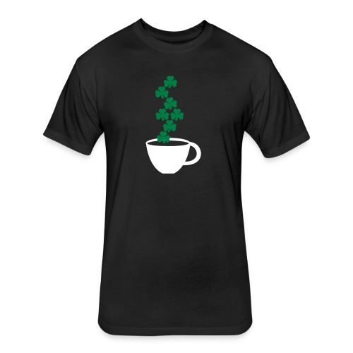 irishcoffee - Fitted Cotton/Poly T-Shirt by Next Level