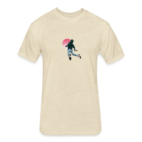Fly - Fitted Cotton/Poly T-Shirt by Next Level