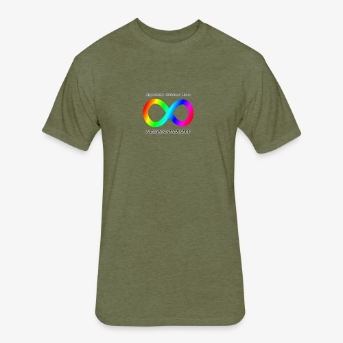 Embrace Neurodiversity - Fitted Cotton/Poly T-Shirt by Next Level