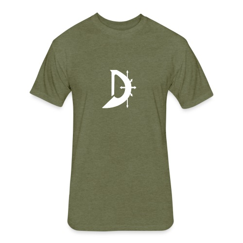Mark of Dave T-Shirt - Fitted Cotton/Poly T-Shirt by Next Level