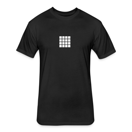 Drum Pads - Fitted Cotton/Poly T-Shirt by Next Level