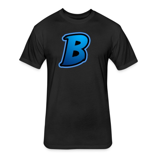 BradyBooneYT - Fitted Cotton/Poly T-Shirt by Next Level