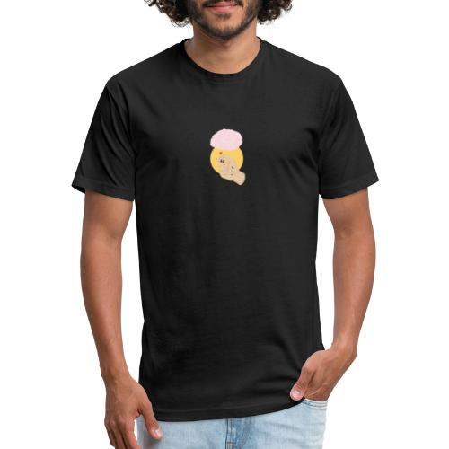 Coozy Moody - Light up your brain. - Fitted Cotton/Poly T-Shirt by Next Level