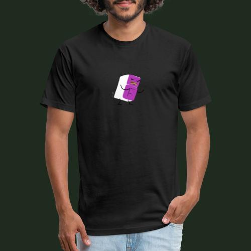 Fridge - Fitted Cotton/Poly T-Shirt by Next Level