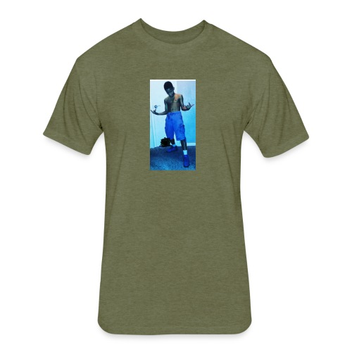 Sosaa - Fitted Cotton/Poly T-Shirt by Next Level