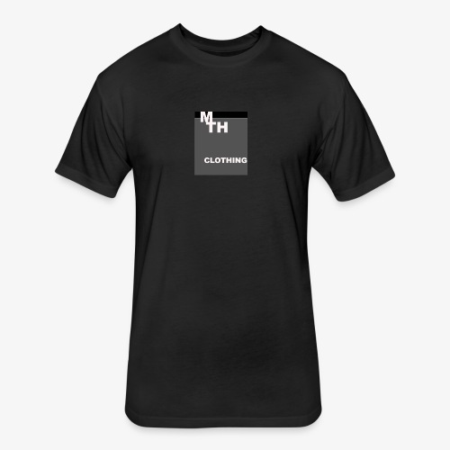 mth clothing co best in black - Fitted Cotton/Poly T-Shirt by Next Level
