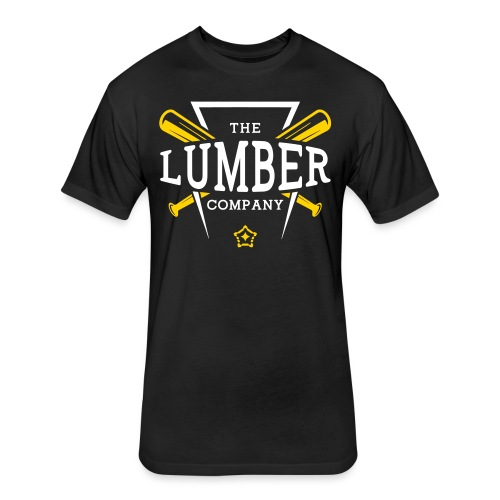 lumber - Fitted Cotton/Poly T-Shirt by Next Level