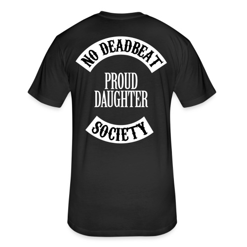Proud Daughter T-shirt (Kids) - Fitted Cotton/Poly T-Shirt by Next Level