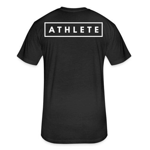 ATHLETE - Fitted Cotton/Poly T-Shirt by Next Level