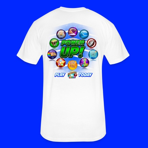 Vintage Cannonball Bingo Power-Up Tee - Fitted Cotton/Poly T-Shirt by Next Level