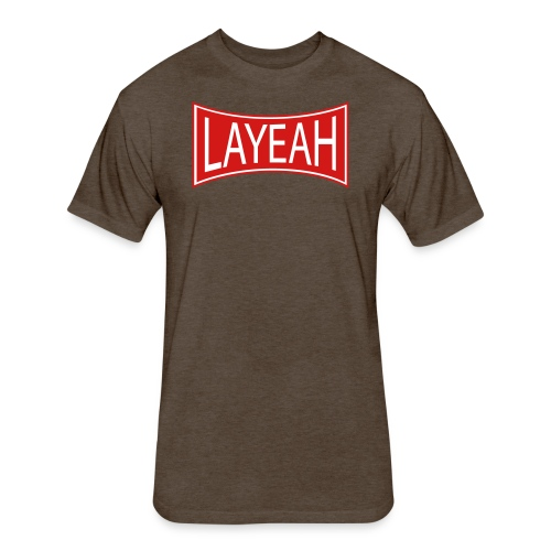 Standard Layeah Shirts - Fitted Cotton/Poly T-Shirt by Next Level