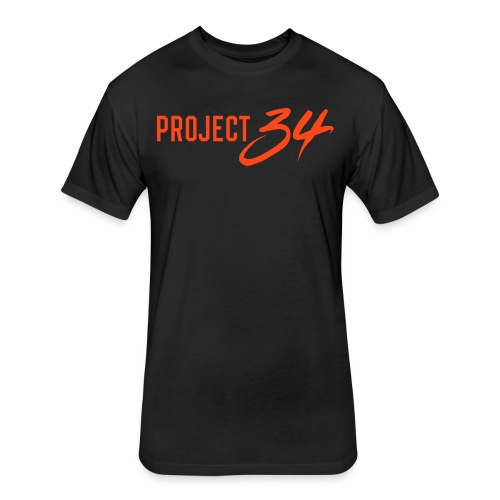 Tigers_Project 34 - Fitted Cotton/Poly T-Shirt by Next Level