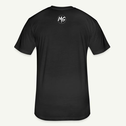 Malakye Grind Rock'n'Roll is Black Series LOGO - Fitted Cotton/Poly T-Shirt by Next Level
